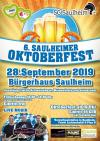 5. Saulheimer Oktoberfest - Jetzt Restkarten bei Frisööör Lichtenheldt oder Plan B sichern!